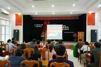 BQL VQG Phong Nha – Kẻ Bàng: Học tập, quán triệt và triển khai thực hiện Nghị quyết Đại hội đại biểu Đảng bộ tỉnh lần thứ XVII, nhiệm kỳ 2020 – 2025